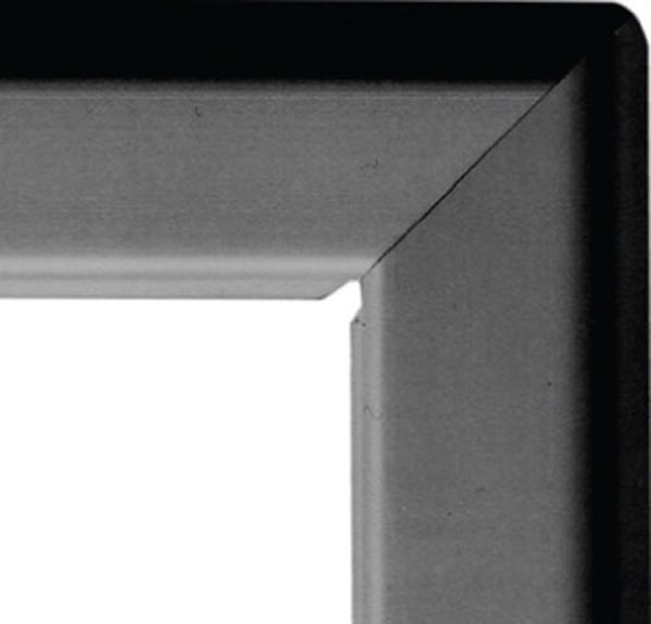 Picture of A2 25mm snap frame - black