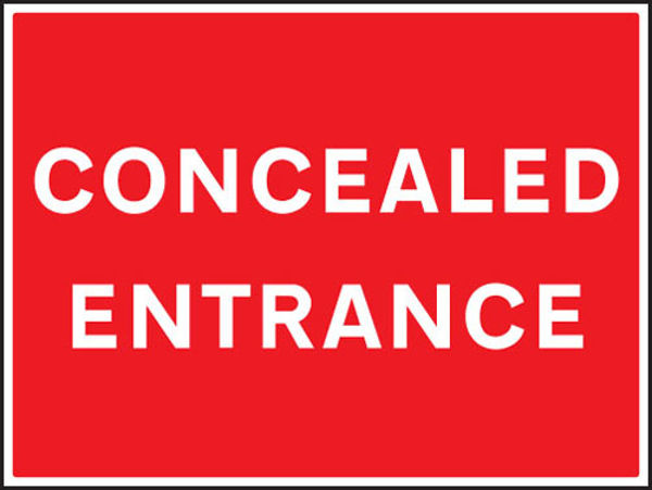 Picture of Concealed entrance
