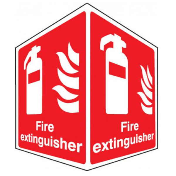 Picture of Fire extinguisher - projecting sign