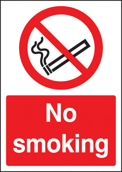 Picture of No smoking - A4 sav