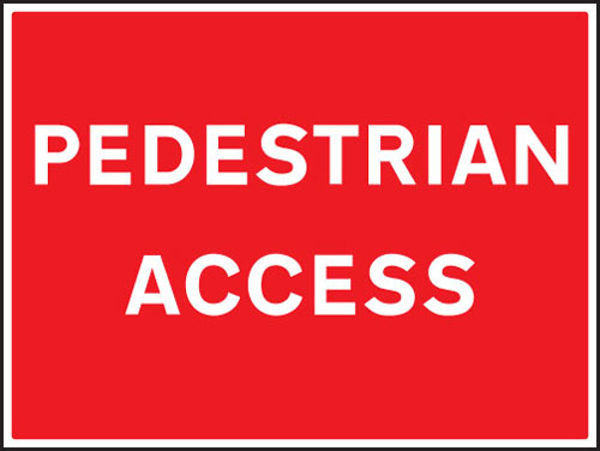 Picture of Pedestrian access