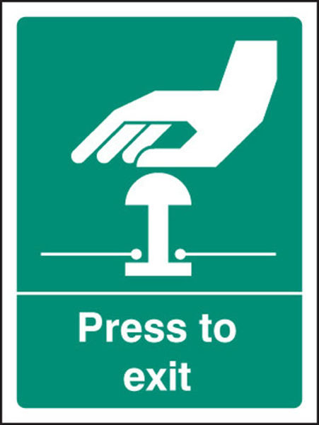 Picture of Press to exit