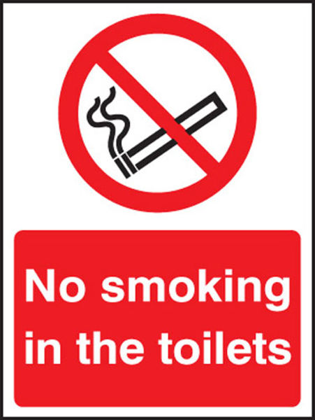 Picture of No smoking in the toilets