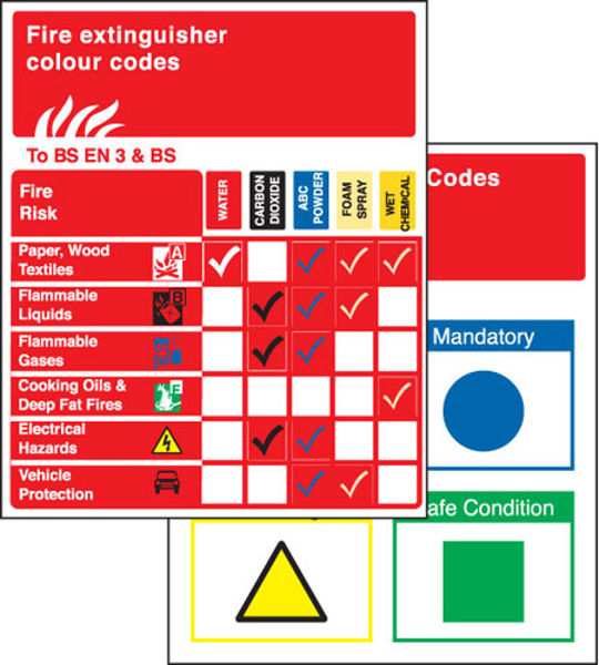 Picture of Pocket guide extinguishers to BSEN 3 & BS  75x90mm (pack10)