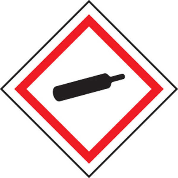 Picture of Compressed Gas GHS label