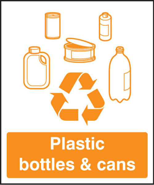 Picture of Plastic bottles & cans recycling