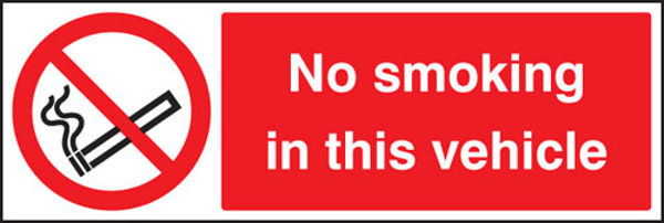 Picture of No smoking in the vehicle