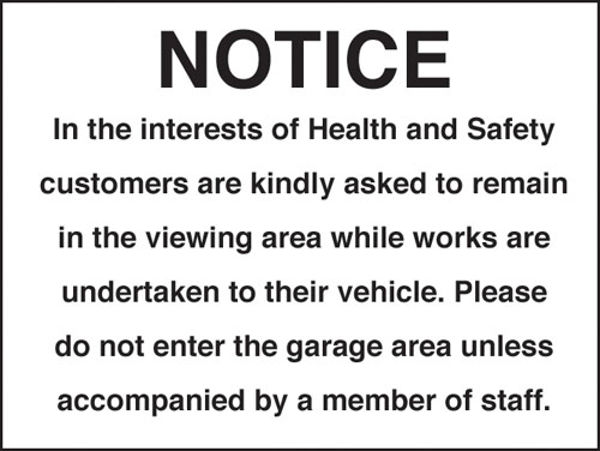 Picture of Notice in the interest of health