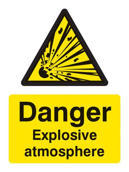 Picture of Danger explosive atmosphere BS5499