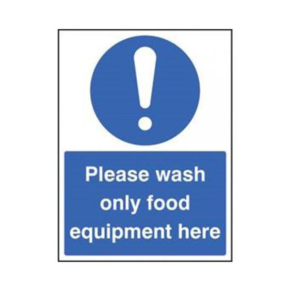 Picture of Please Wash Only … 200mm x 150mm S-A