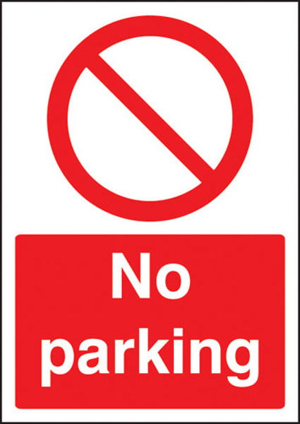Picture of No parking - A4 sav