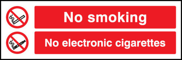 Picture of No smoking No Electronic cigarettes