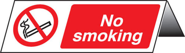 Picture of No smoking table cards (pk of 5)