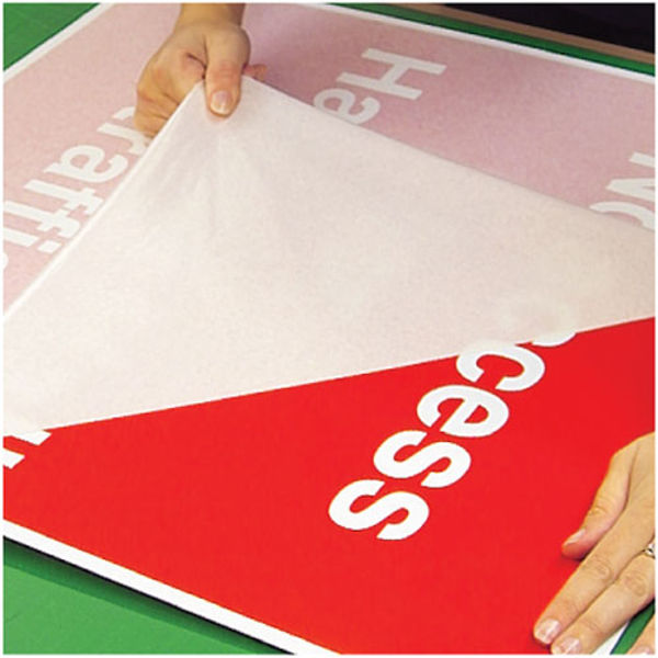 Picture of Custom made 600x450mm self-adhesive