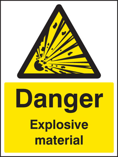 Picture of Danger explosive material