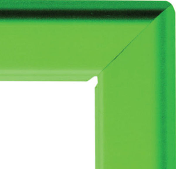 Picture of A3 25mm snap frame - green
