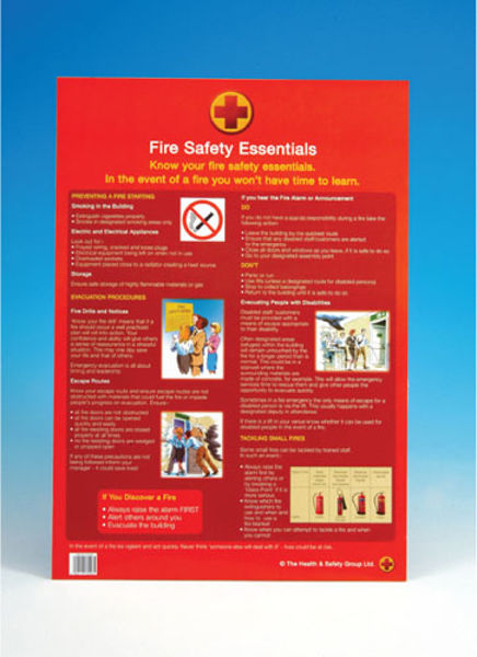 Picture of A2 poster - Fire Safety Essentials
