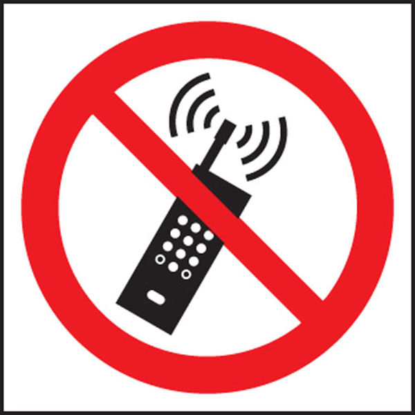 Picture of No mobile phones (symbol)