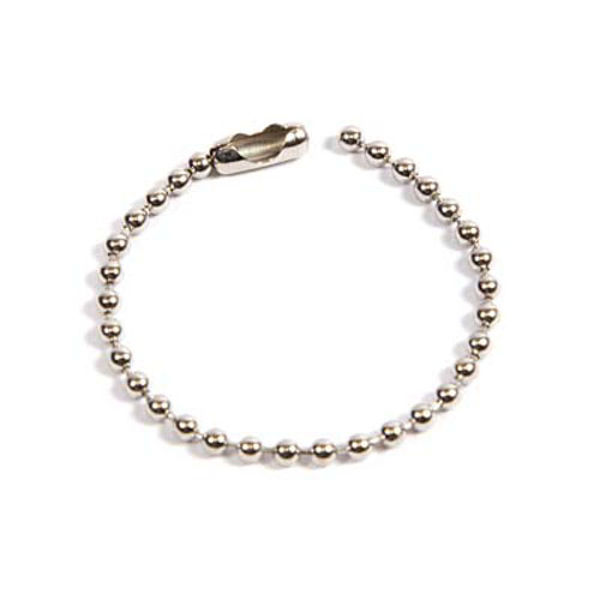 Picture of 100mm Metal Ball Chain with Connector (Pack of 50)