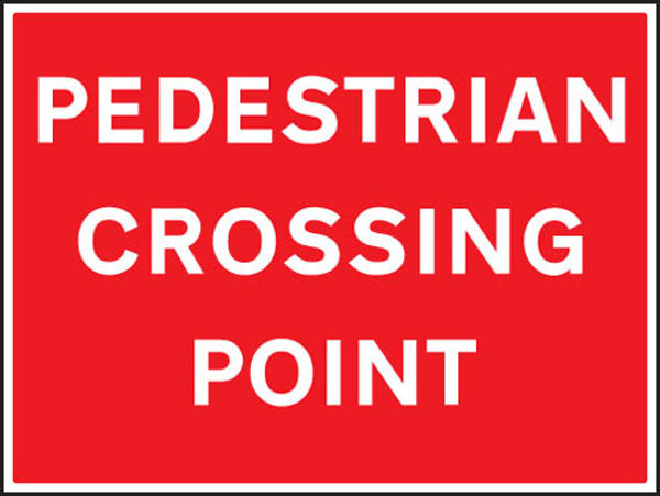 Picture of Pedestrian crossing point