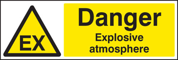 Picture of Danger explosive atmosphere