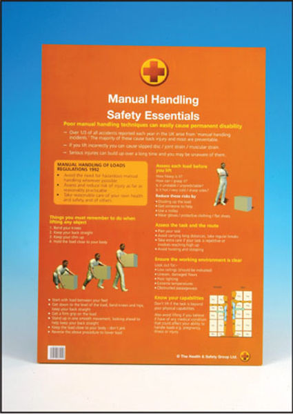 Picture of A2 poster - Manual Handling Essentials