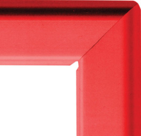 Picture of A2 25mm snap frame - red