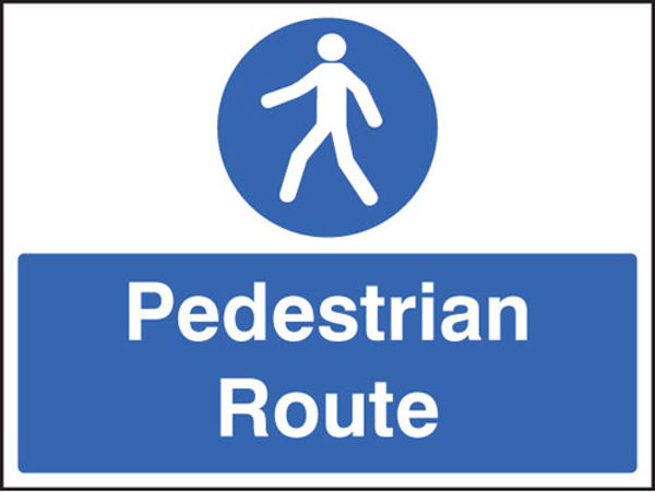 Picture of Pedestrian route