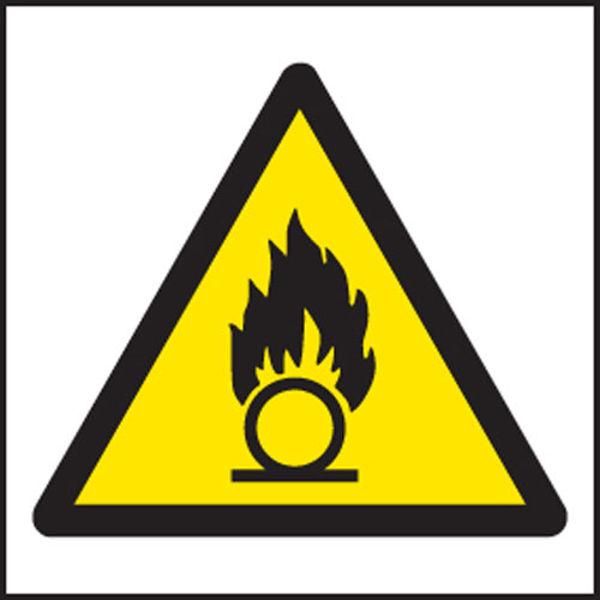 Picture of Oxidising agent symbol