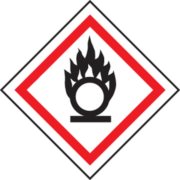 Picture of Oxidiser GHS label
