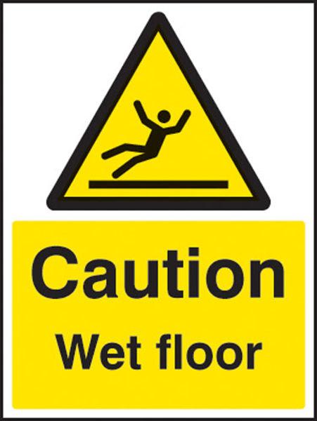 Picture of Caution wet floor