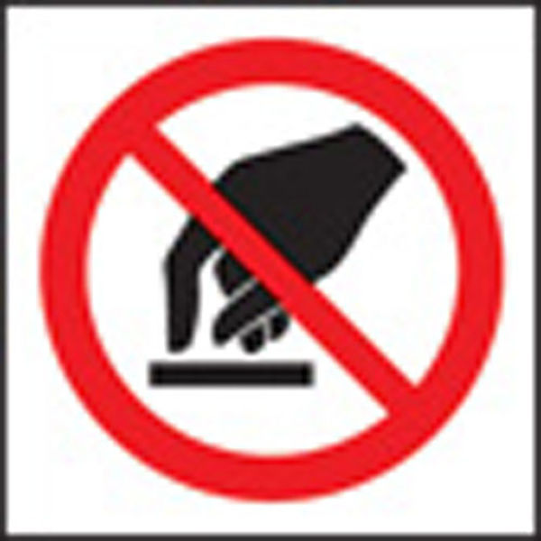 Picture of 100 S-A labels 50x50mm do not touch