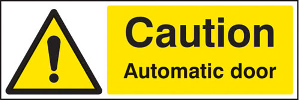 Picture of Caution automatic door