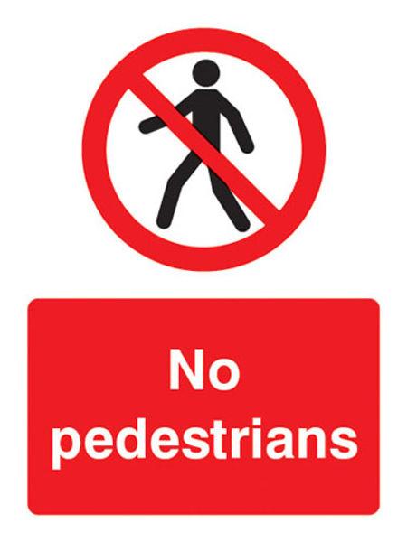 Picture of No pedestrians