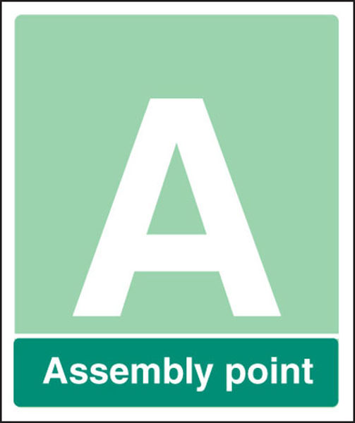 Picture of Special Assembly point rigid plastic 450x600mm