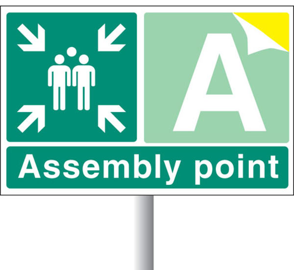 Picture of Special Assembly point aluminium c-w channel 600x400mm