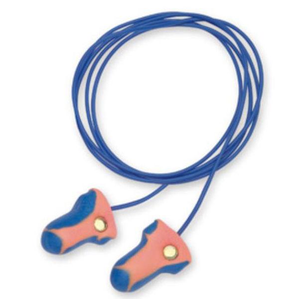Picture of Earplugs Lasertrak detectable (100prs) Blue