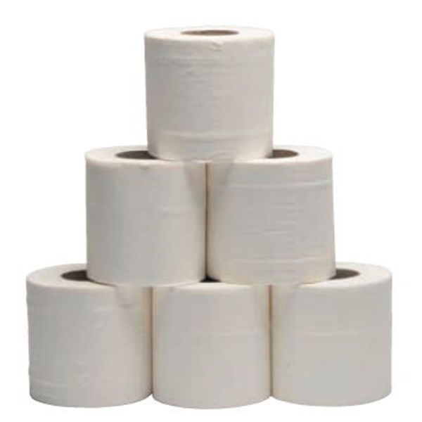Picture of 2 ply Toilet rolls soft White (9 x 4 rolls)