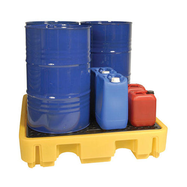 Picture of Yellow Spill Pallet 4 drums….280mm deep