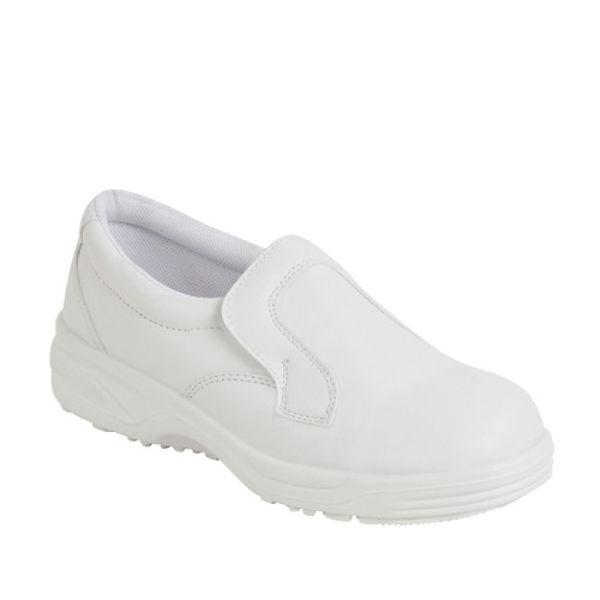 Picture of Hygiene White Slip on Shoe Shoe S2 SRC