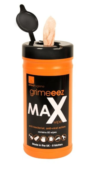 Picture of Grime-eez Heavy Duty Abrasive Wipes x80