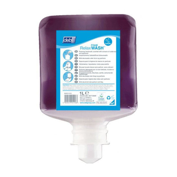 Picture of Deb Relax foam hand wash 1Ltr