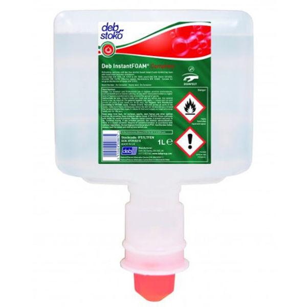 Picture of Deb InstantFOAM Sanitiser 1Ltr (for T-F dispenser)