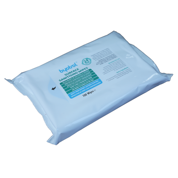 Picture of Invirtu QAC-Free Wipes 100