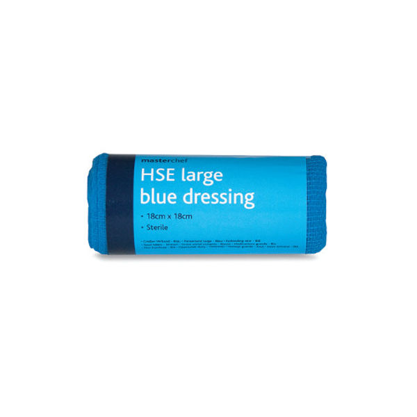 Picture of Blue Large Dressing