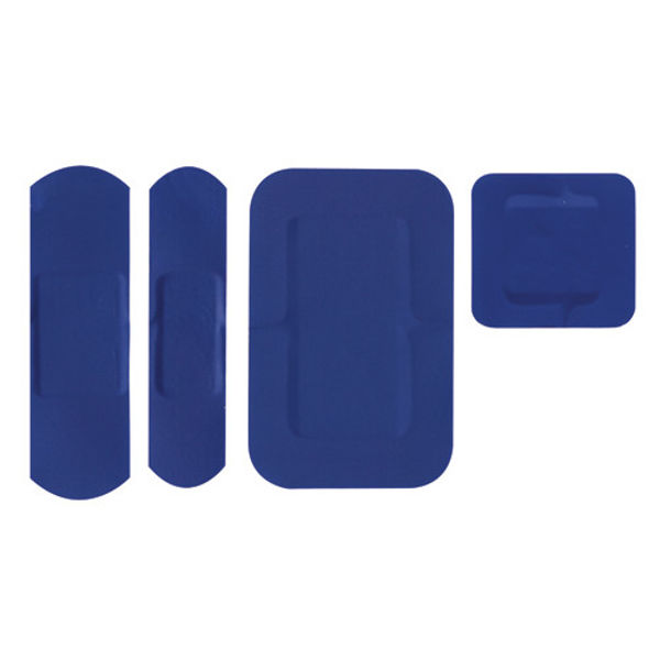 Picture of Blue detectable plasters Assorted