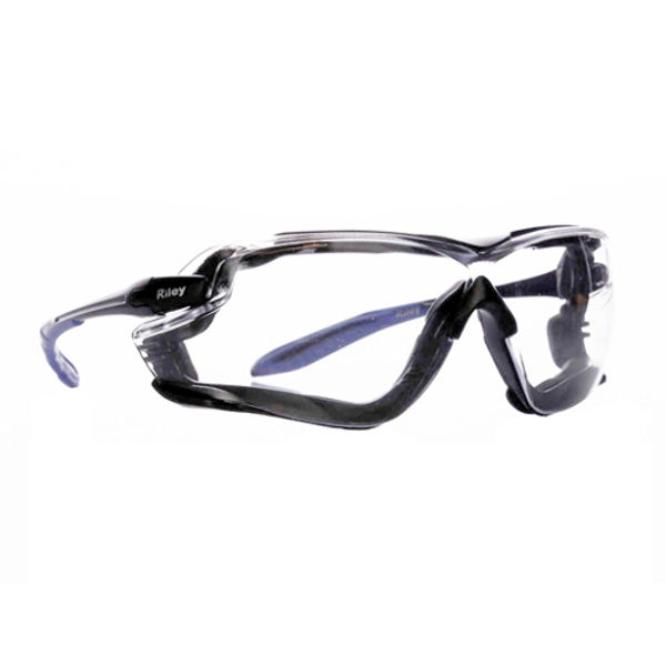 Picture of Riley Quadro Clear Lens Safety Specs