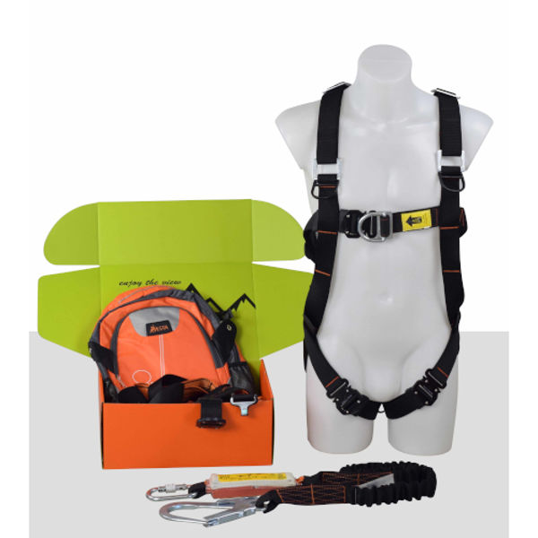 Picture of Scaffold Kit 6E-Dbl Point Elastic Harness +Lanyard