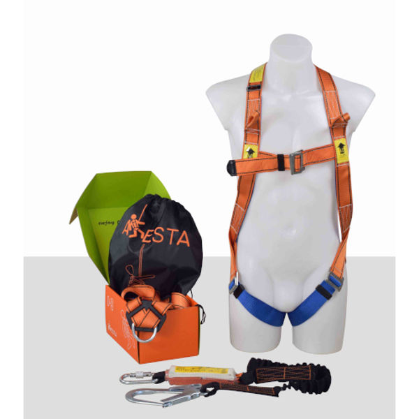 Picture of ARESTA Kit2S: Double Point Harness,elastic Lanyard