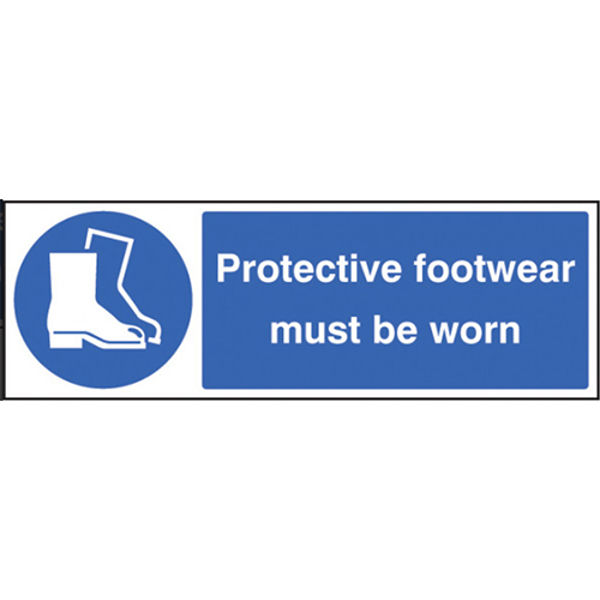 Picture of Protective footwear must be worn